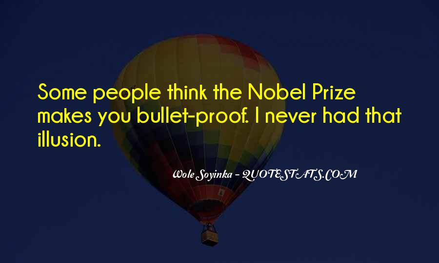 Quotes About Nobel Prize #650040