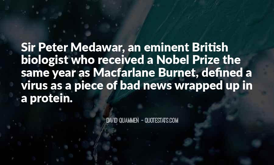 Quotes About Nobel Prize #663969