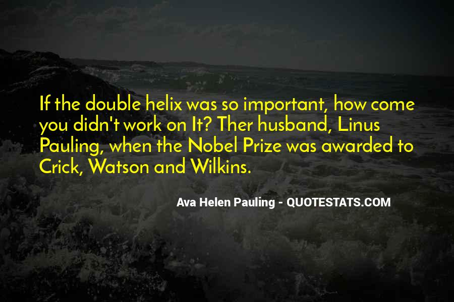 Quotes About Nobel Prize #674934