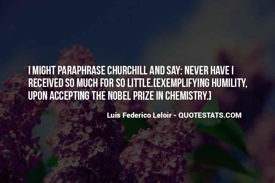 Quotes About Nobel Prize #689623