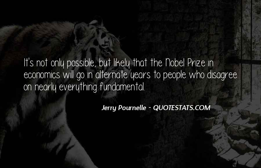 Quotes About Nobel Prize #692033