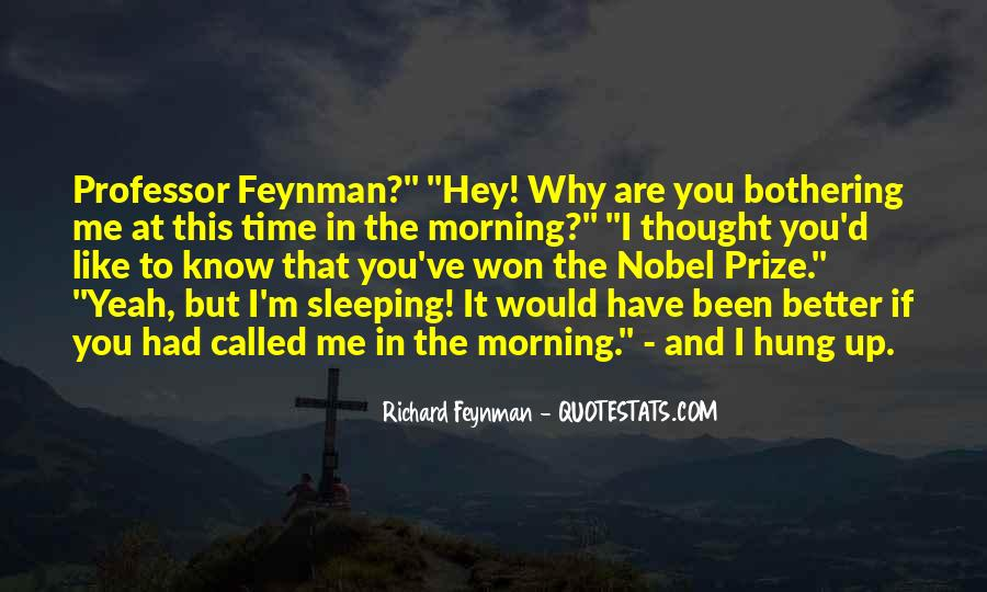 Quotes About Nobel Prize #78066