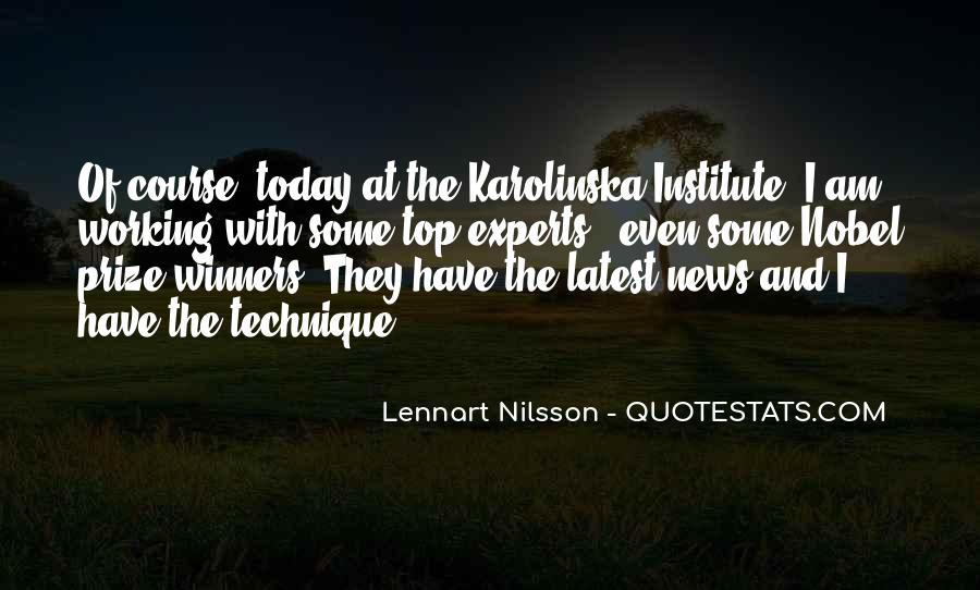 Quotes About Nobel Prize #809281
