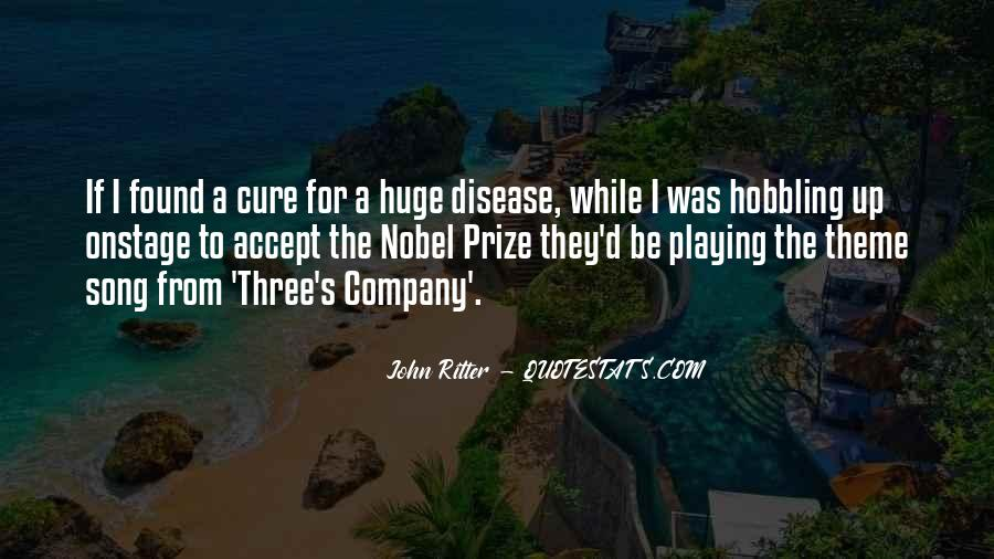 Quotes About Nobel Prize #83447