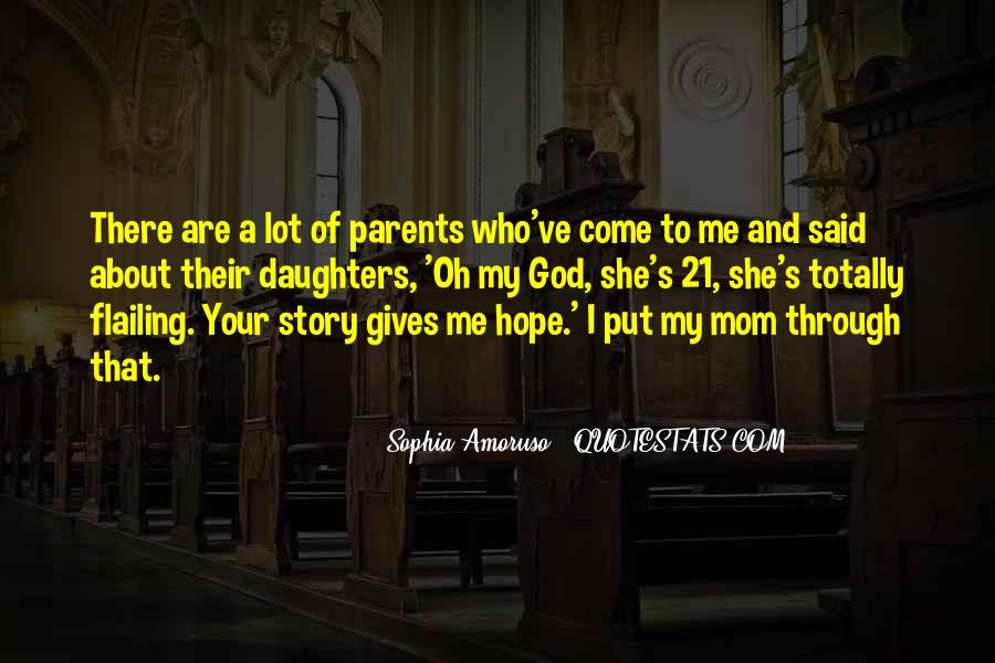 Quotes About Parents And Daughters #1521712