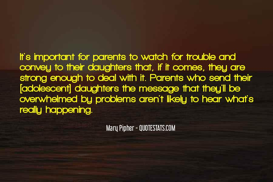 Quotes About Parents And Daughters #537602