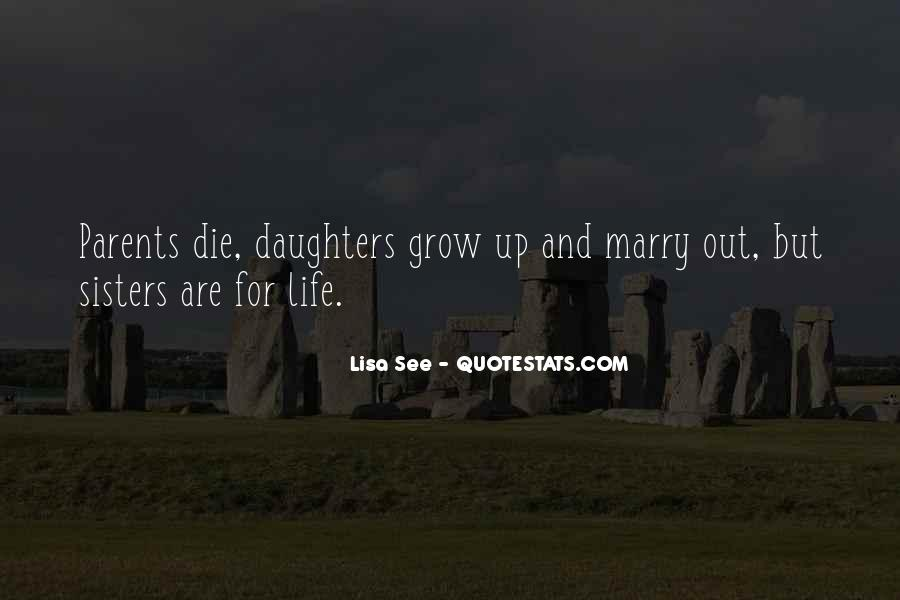 Quotes About Parents And Daughters #7623