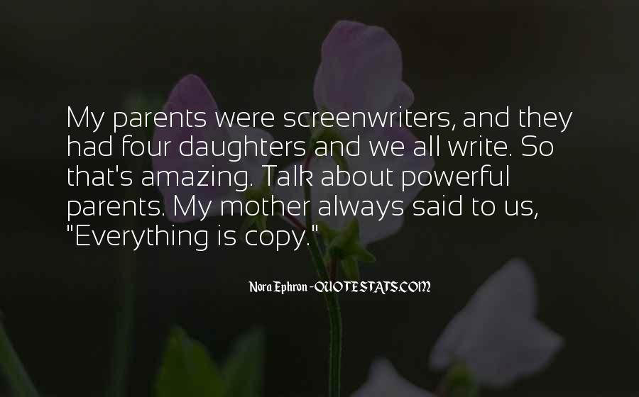 Quotes About Parents And Daughters #805309