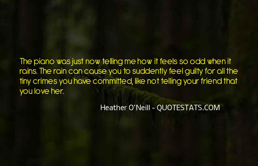 Quotes About Not Telling How You Feel #1696565
