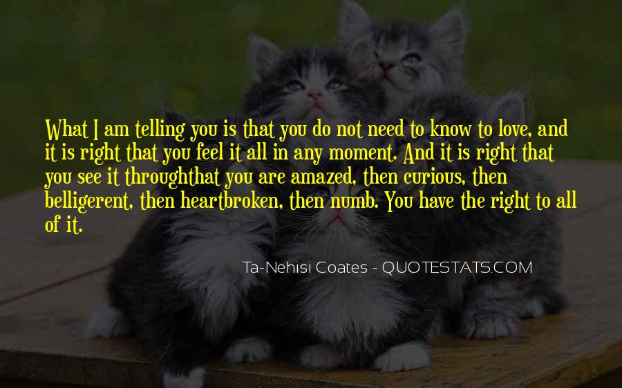 Quotes About Not Telling How You Feel #74823