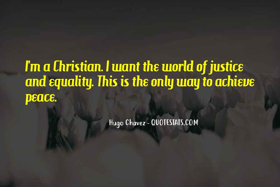 Quotes About Equality And Justice #34971