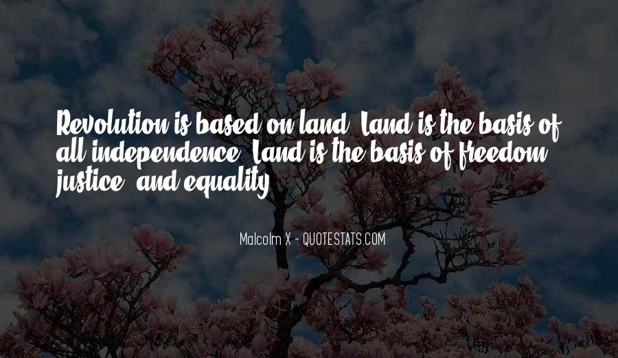 Quotes About Equality And Justice #43088