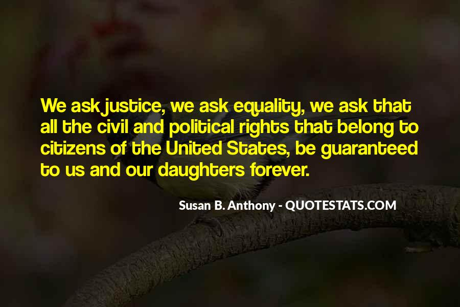 Quotes About Equality And Justice #500501