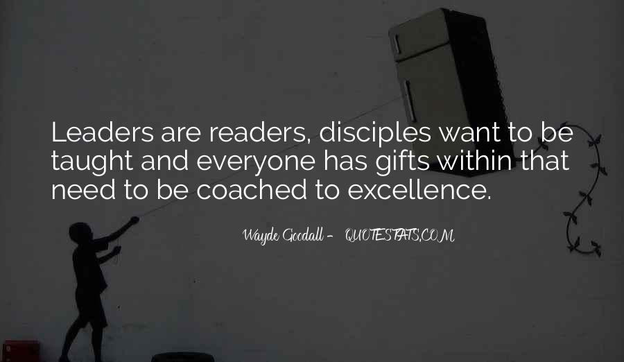 Quotes About Reading And Leadership #1121547