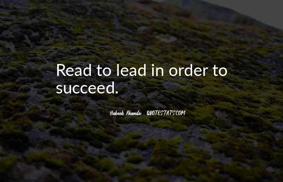 Quotes About Reading And Leadership #1550173