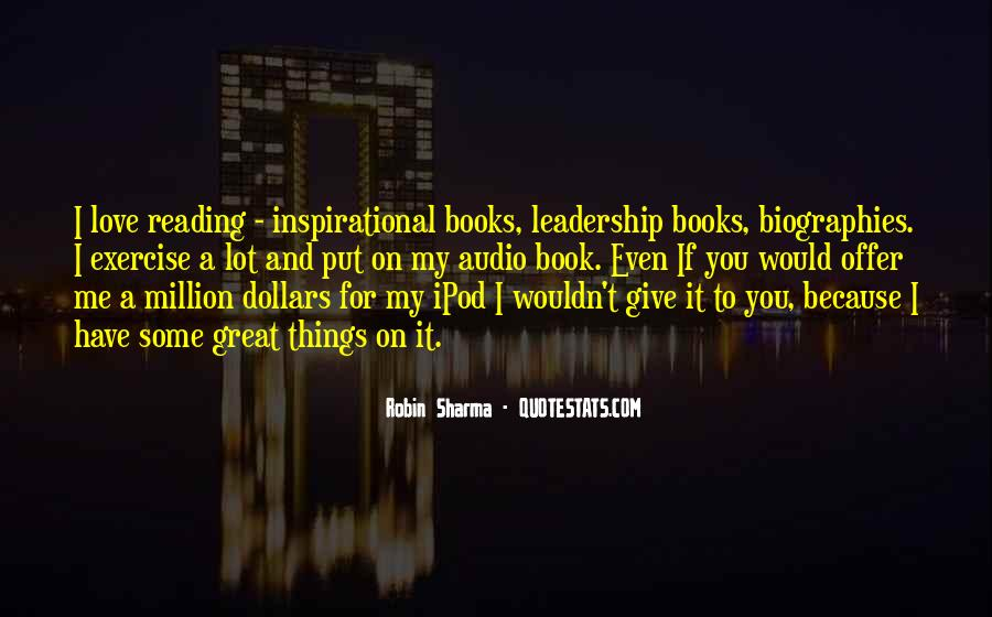 Quotes About Reading And Leadership #1735674