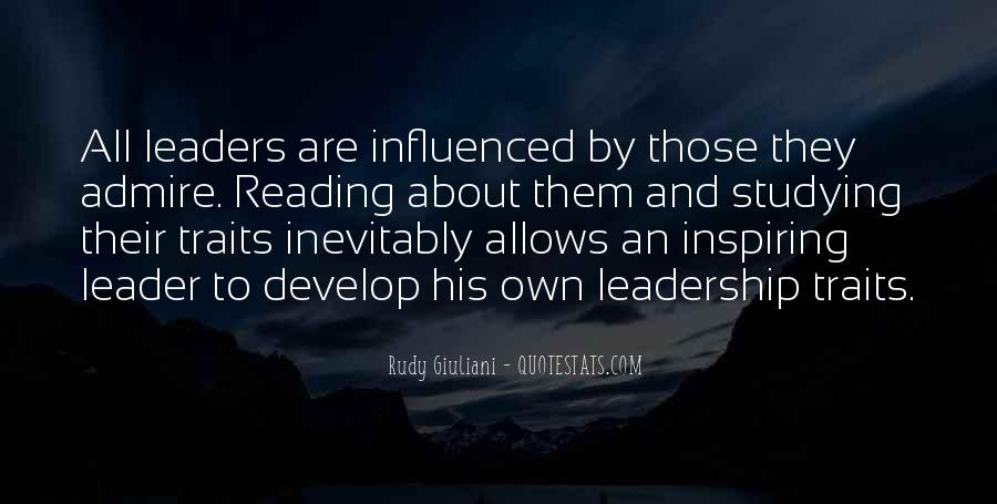 Quotes About Reading And Leadership #1753863