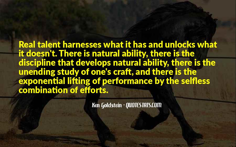 Quotes About Natural Ability #1216158