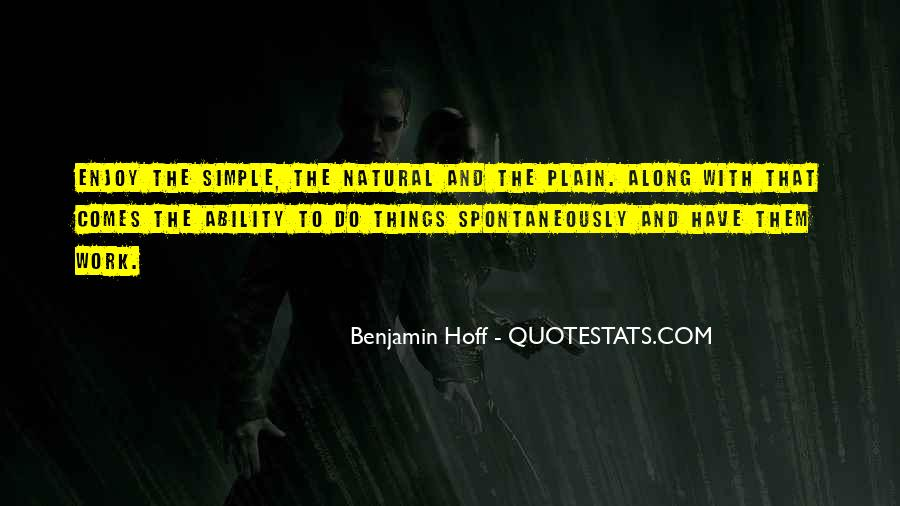 Quotes About Natural Ability #1275376