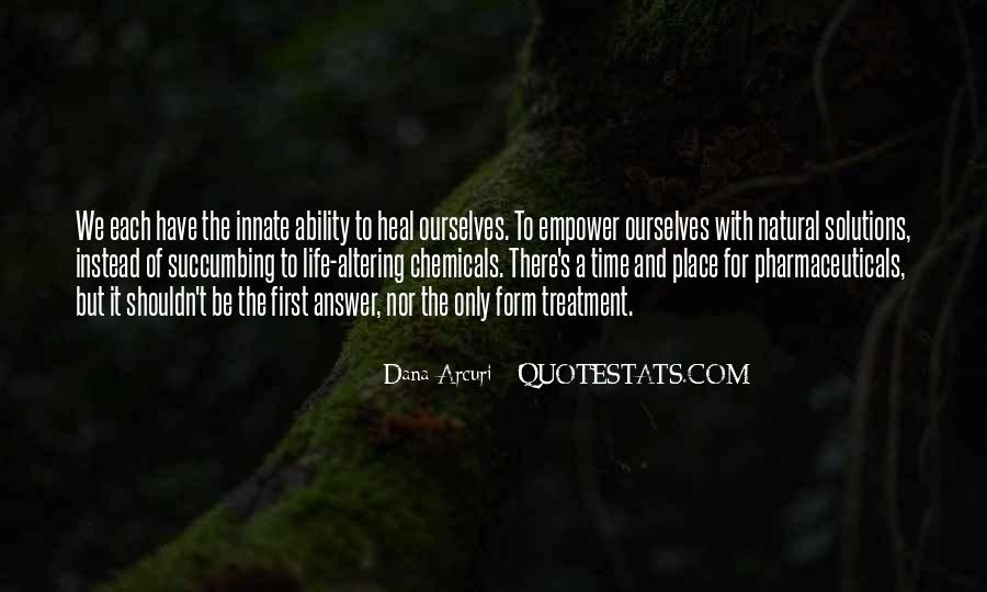 Quotes About Natural Ability #1338981