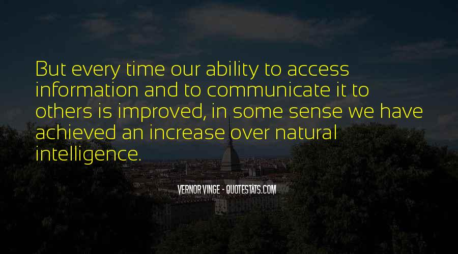 Quotes About Natural Ability #1455054