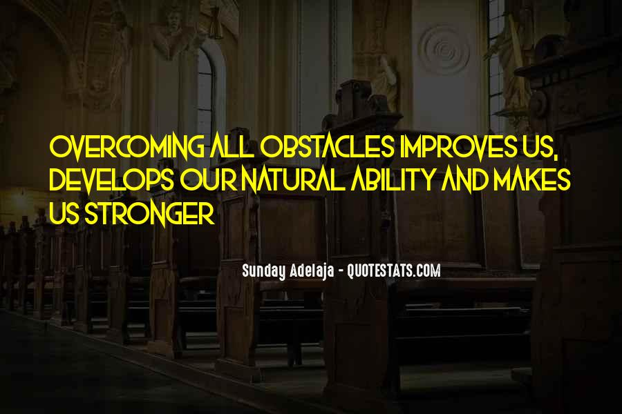 Quotes About Natural Ability #1588794