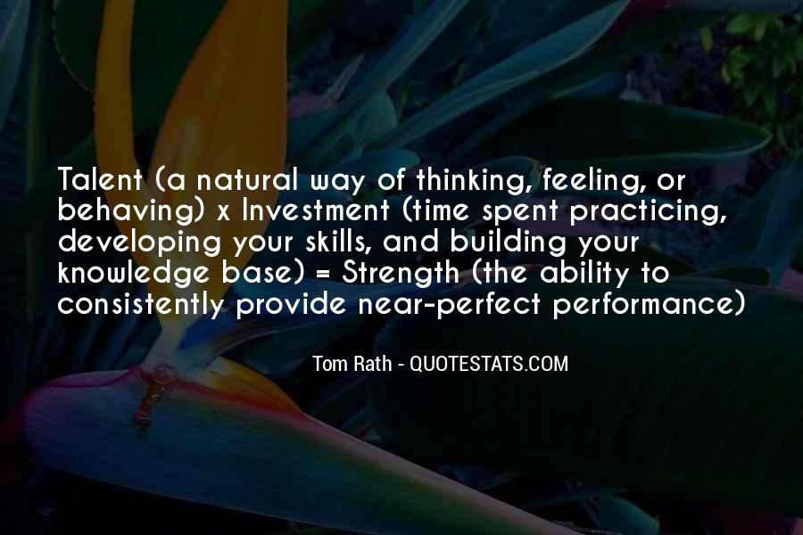 Quotes About Natural Ability #1671839