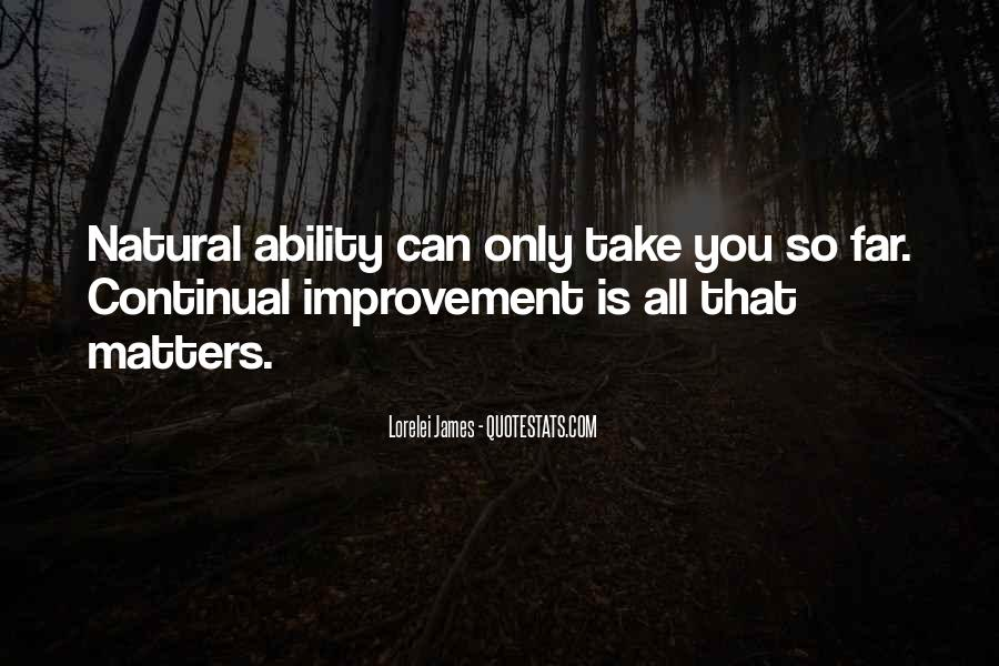 Quotes About Natural Ability #887723