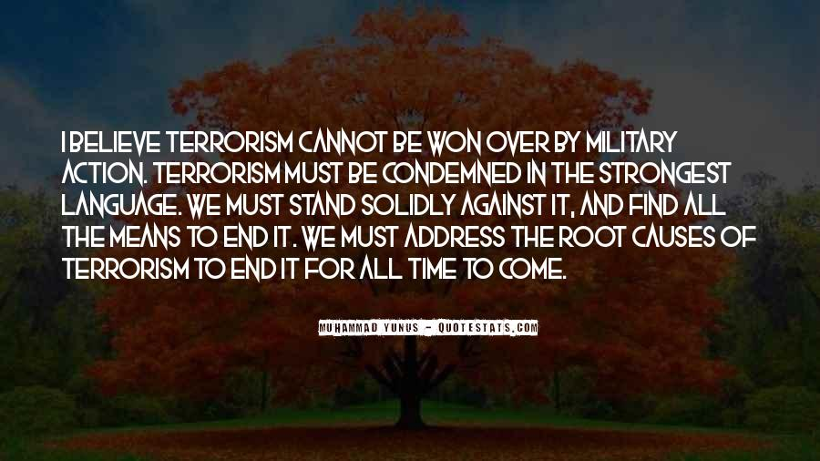 Quotes About Terrorism #10598