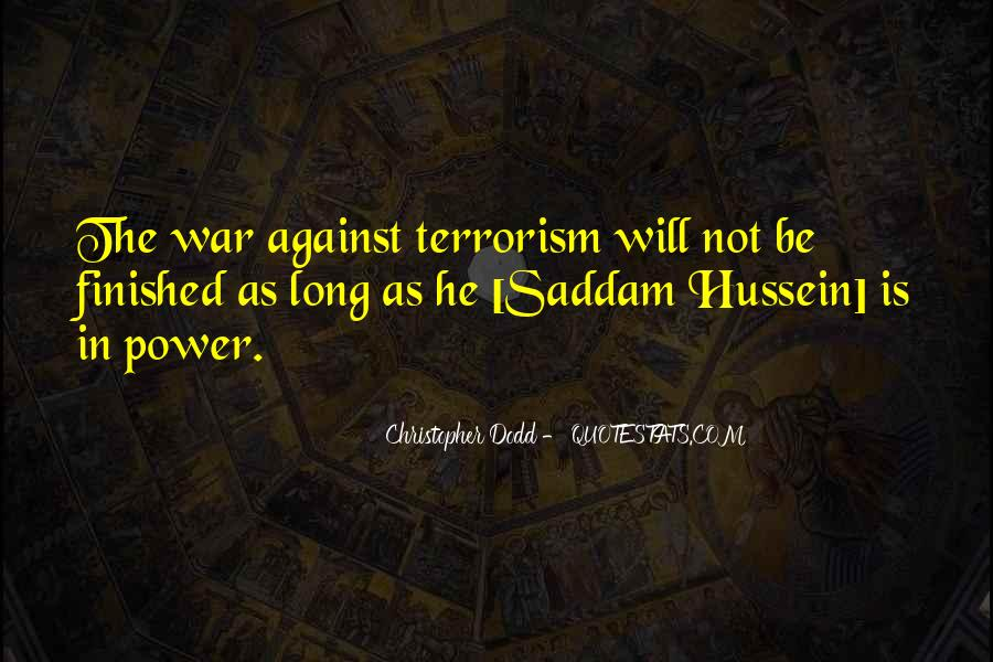 Quotes About Terrorism #108779