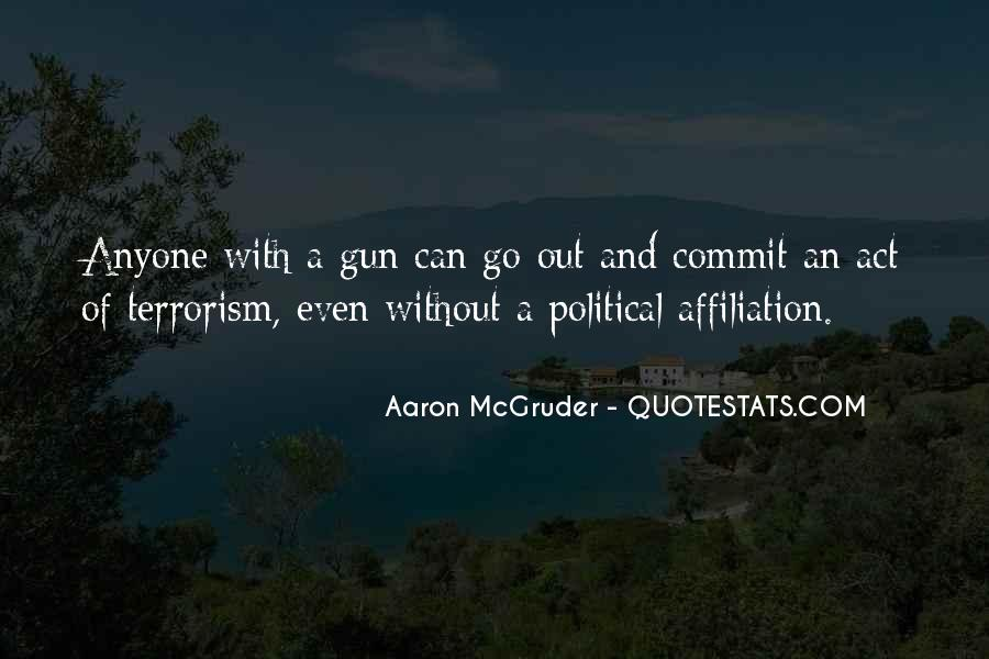Quotes About Terrorism #110892
