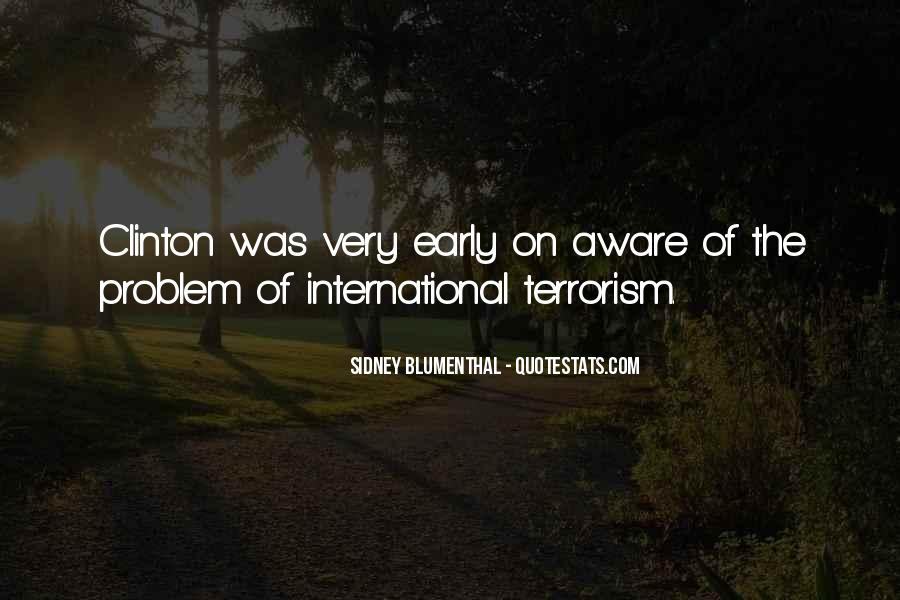 Quotes About Terrorism #111286