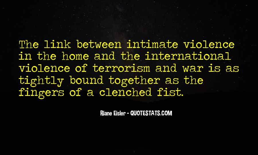 Quotes About Terrorism #119011