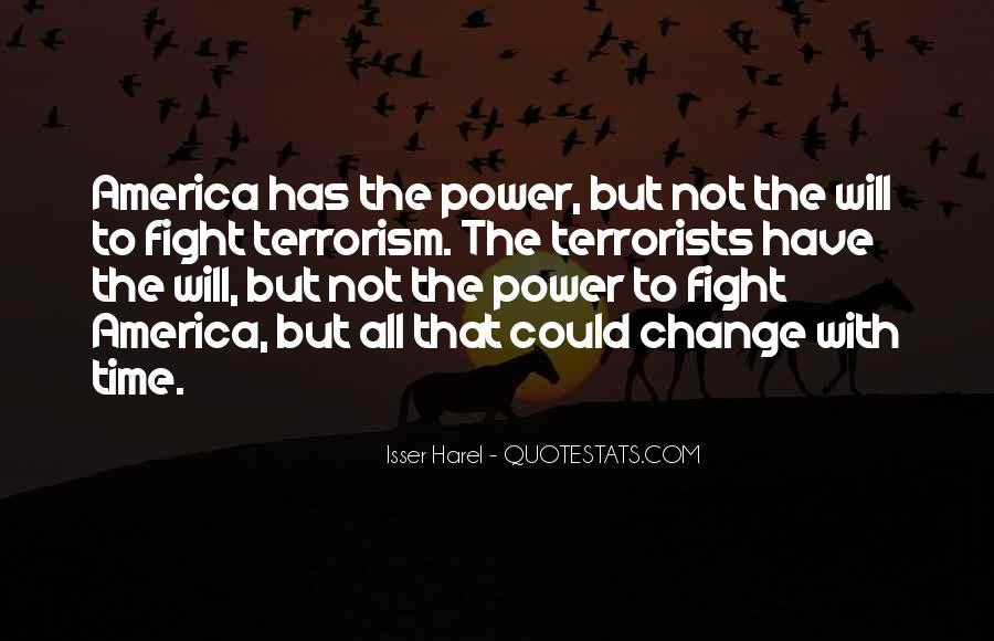 Quotes About Terrorism #119960