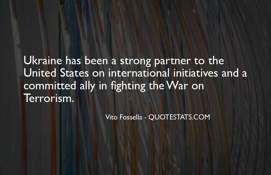 Quotes About Terrorism #120792