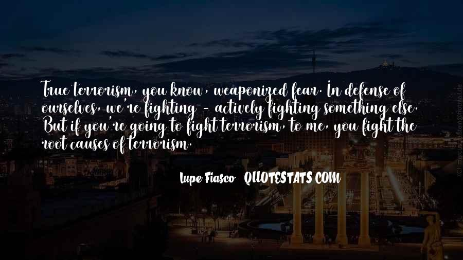 Quotes About Terrorism #122524
