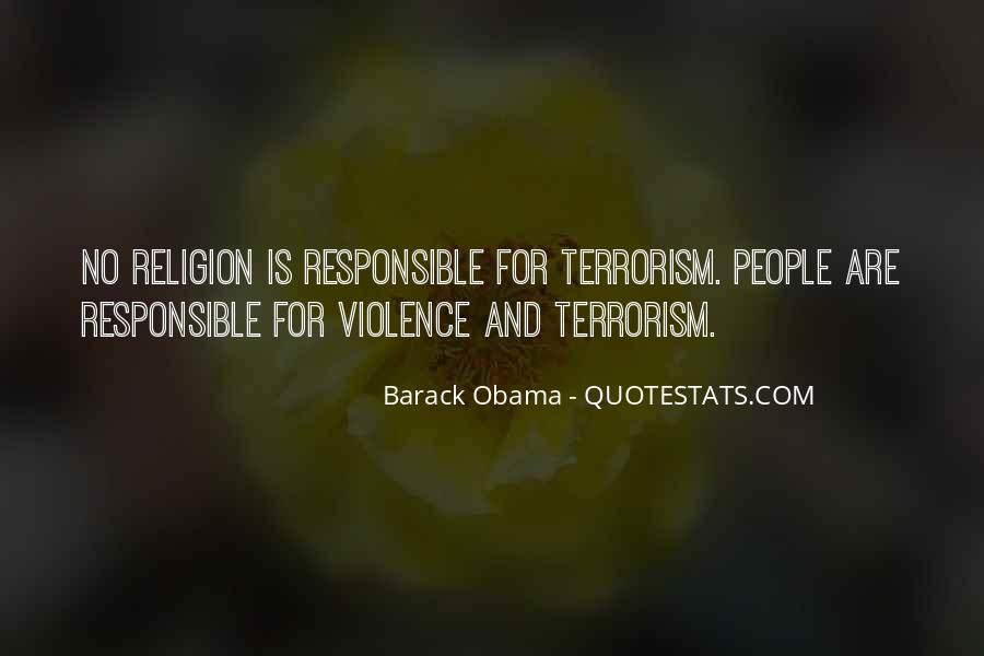 Quotes About Terrorism #122934