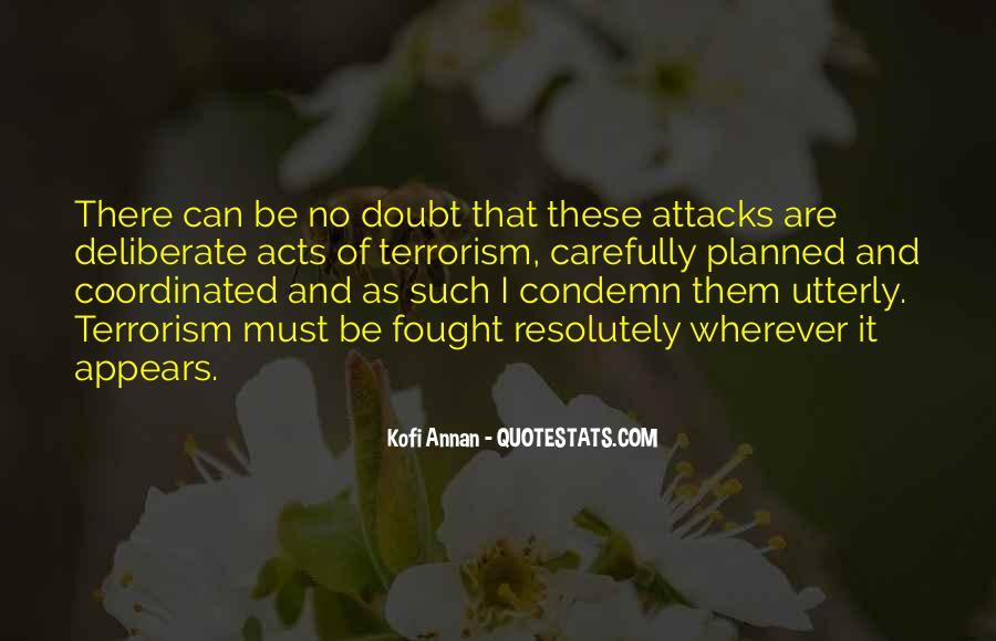 Quotes About Terrorism #123157