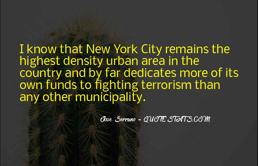 Quotes About Terrorism #125497