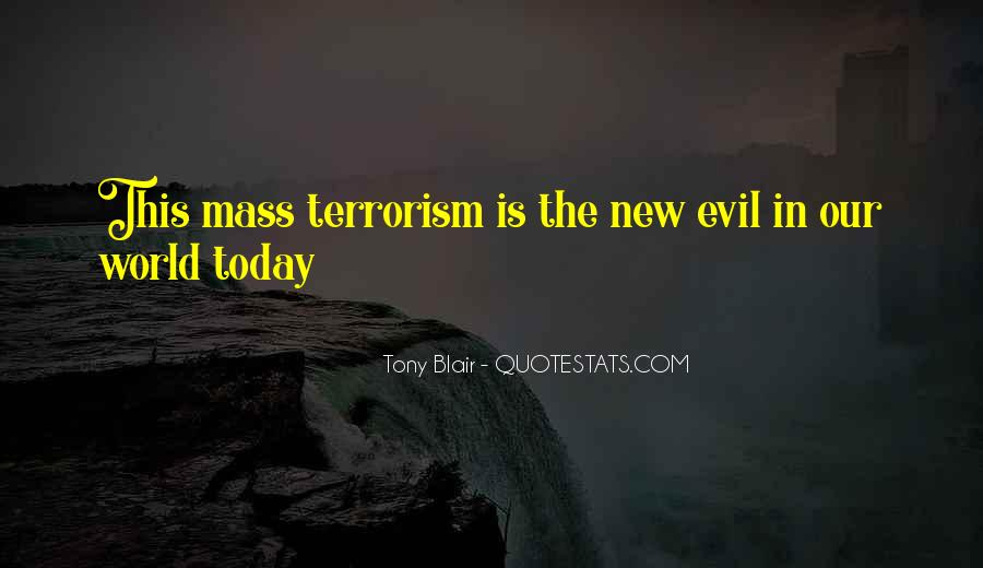 Quotes About Terrorism #134581