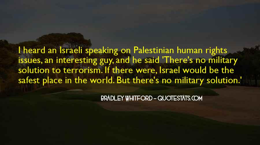 Quotes About Terrorism #135173
