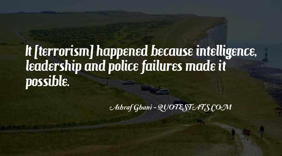 Quotes About Terrorism #135510