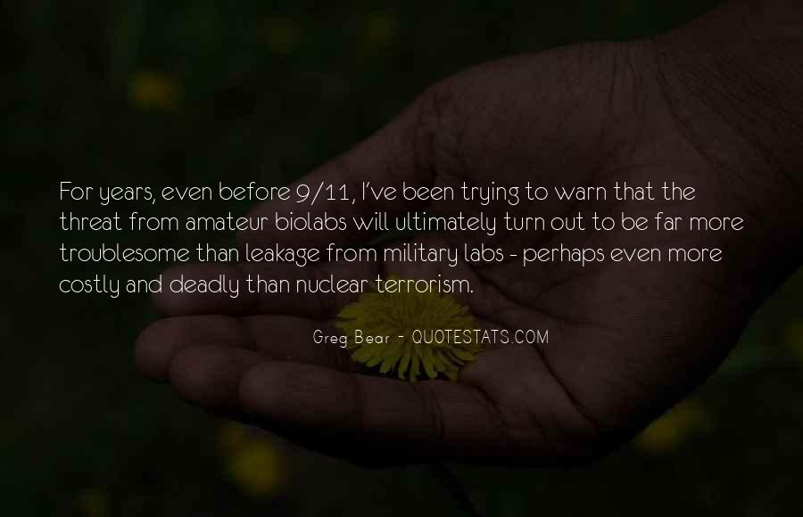 Quotes About Terrorism #15366