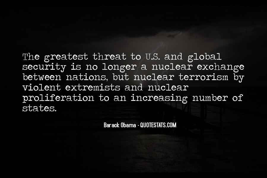 Quotes About Terrorism #17584