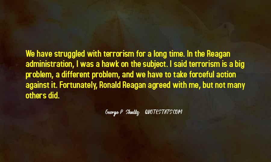 Quotes About Terrorism #30373