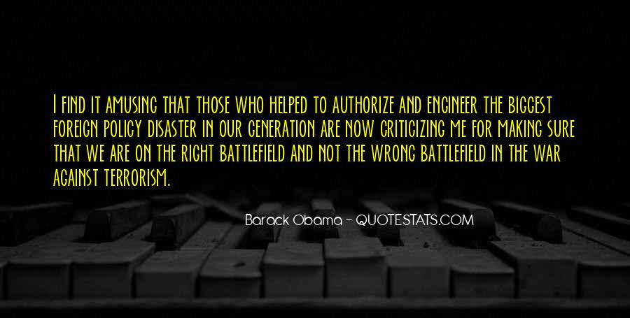 Quotes About Terrorism #30379