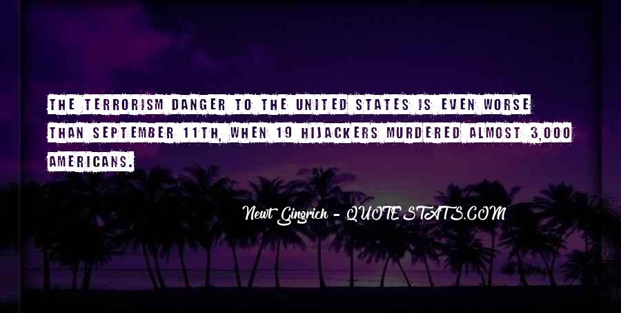 Quotes About Terrorism #35874