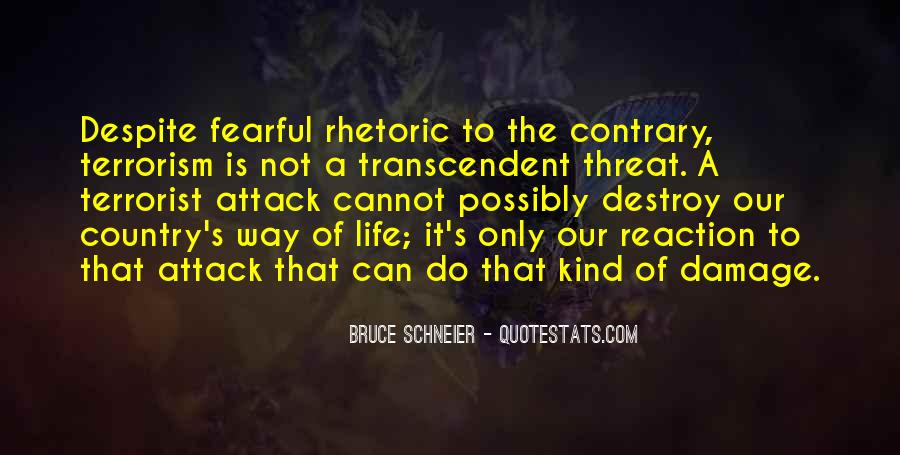 Quotes About Terrorism #39487