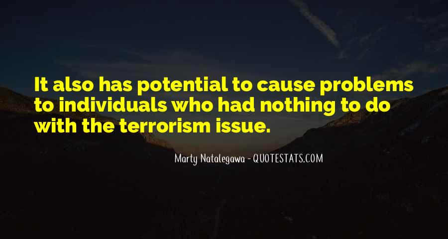 Quotes About Terrorism #40023