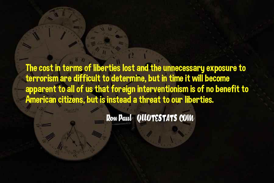 Quotes About Terrorism #51803